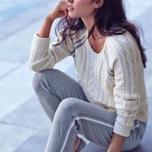 Athleta Cable Knit Montara Sweater